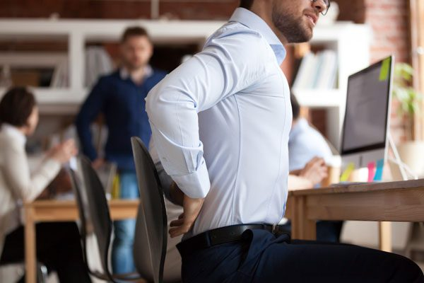 Back Pain from Prolonged Sitting